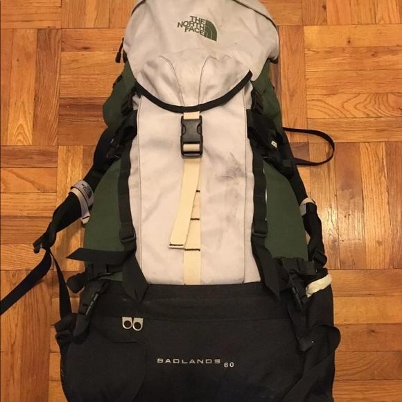 The North Face badlands 60 hiking backpack unisex